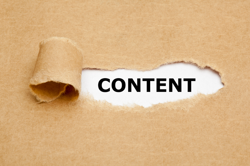 Content is the key for Marketing