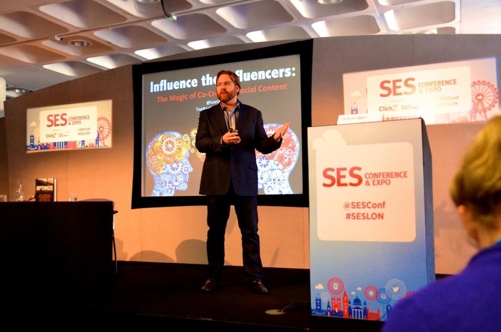 Lee Odden at SES LONDON 2014