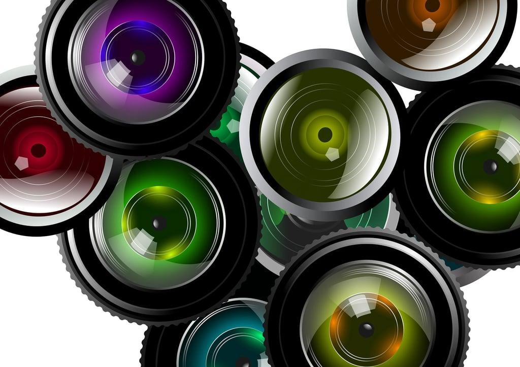 様々なレンズの写真